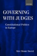 Cover for Governing with Judges