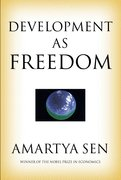 Cover for Development as Freedom