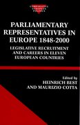 Cover for Parliamentary Representatives in Europe 1848-2000