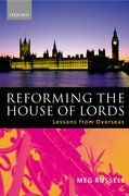 Cover for Reforming the House of Lords