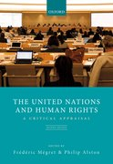 Cover for The United Nations and Human Rights - 9780198298373