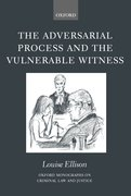 Cover for The Adversarial Process and the Vulnerable Witness