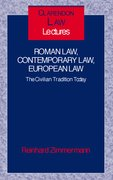 Cover for Roman Law, Contemporary Law, European Law