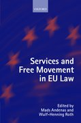 Cover for Services and Free Movement in EU Law