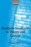 Cover for Nonfinite Structures in Theory and Change