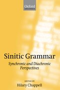 Cover for Sinitic Grammar