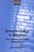 Cover for Syntactic Change in Akkadian