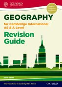 Cover for Geography for Cambridge International AS and A Level Revision Guide