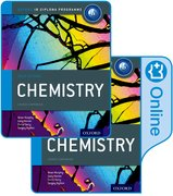 Cover for IB Chemistry Print and Online Course Book Pack 2014 edition