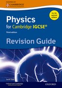 Cover for Complete Physics for Cambridge IGCSE RG Revision Guide (Third edition)
