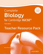 Cover for Complete Biology for Cambridge IGCSERG Teacher Resource Pack (Third edition)