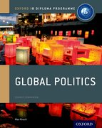 Cover for IB Global Politics Course Book: Oxford IB Diploma Programme