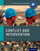 Cover for Conflict and Intervention: IB History Course Book