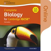 Cover for Complete Biology for Cambridge IGCSERG Online Student Book (Third edition)
