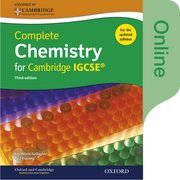 Cover for Complete Chemistry for Cambridge IGCSERG Online Student Book (Third edition)