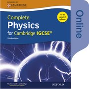 Cover for Complete Physics for Cambridge IGCSERG Online Student Book (Third edition)