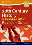 Cover for 20th Century History for Cambridge IGCSERG