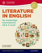 Cover for Literature in English for Cambridge International AS & A Level