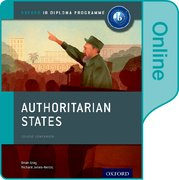 Cover for Authoritarian States: IB History Online Course Book