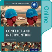Cover for Conflict and Intervention: IB History Online Course Book