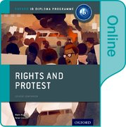 Cover for Rights and Protest: IB History Online Course Book