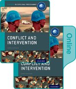Cover for Conflict and Intervention: IB History Print and Online Pack