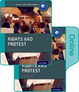 Cover for Rights and Protest: IB History Print and Online Pack