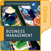 Cover for IB Business Management Online Course Book