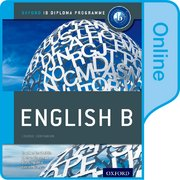 Cover for IB English B Online Course Book