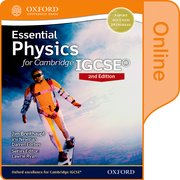 Cover for Essential Physics for Cambridge IGCSERG