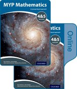 Cover for MYP Mathematics 4 and 5 Extended: Print and Online Course Book Pack