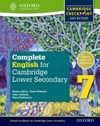 Cover for Complete English for Cambridge Lower Secondary Student Book 7