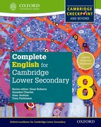 Cover for Complete English for Cambridge Lower Secondary Student Book 8