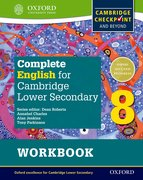 Cover for Complete English for Cambridge Lower Secondary Student Workbook 8