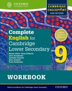 Cover for Complete English for Cambridge Secondary 1 Student Workbook 9