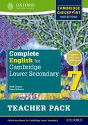 Cover for Complete English for Cambridge Lower Secondary Teacher Pack 7