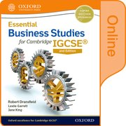 Cover for Essential Business Studies for Cambridge IGCSERG