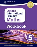 Cover for Oxford International Primary Maths Grade 5 Workbook 5