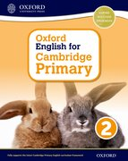 Cover for Oxford English for Cambridge Primary Student Book 2