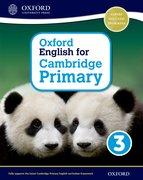 Cover for Oxford English for Cambridge Primary Student Book 3
