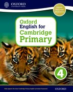 Cover for Oxford English for Cambridge Primary Student Book 4