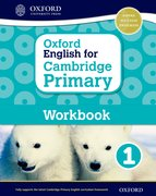 Cover for Oxford English for Cambridge Primary Workbook 1