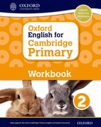 Cover for Oxford English for Cambridge Primary Workbook 2