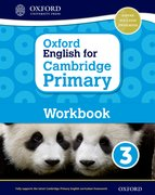Cover for Oxford English for Cambridge Primary Workbook 3