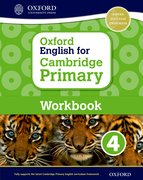Cover for Oxford English for Cambridge Primary Workbook 4