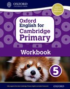 Cover for Oxford English for Cambridge Primary Workbook 5