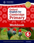 Cover for Oxford English for Cambridge Primary Workbook 6