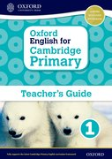 Cover for Oxford English for Cambridge Primary Teacher book 1