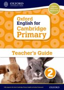 Cover for Oxford English for Cambridge Primary Teacher Guide 2