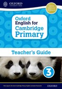 Cover for Oxford English for Cambridge Primary Teacher Book 3